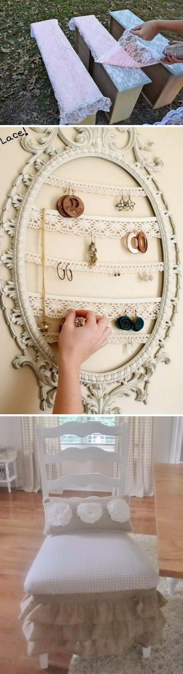 Fantistic DIY Shabby Chic Furniture Ideas and Tutorials.