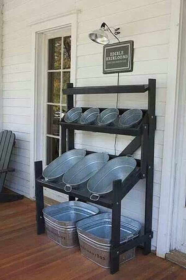 Outdoor Entertaining Drink And Snack Bins