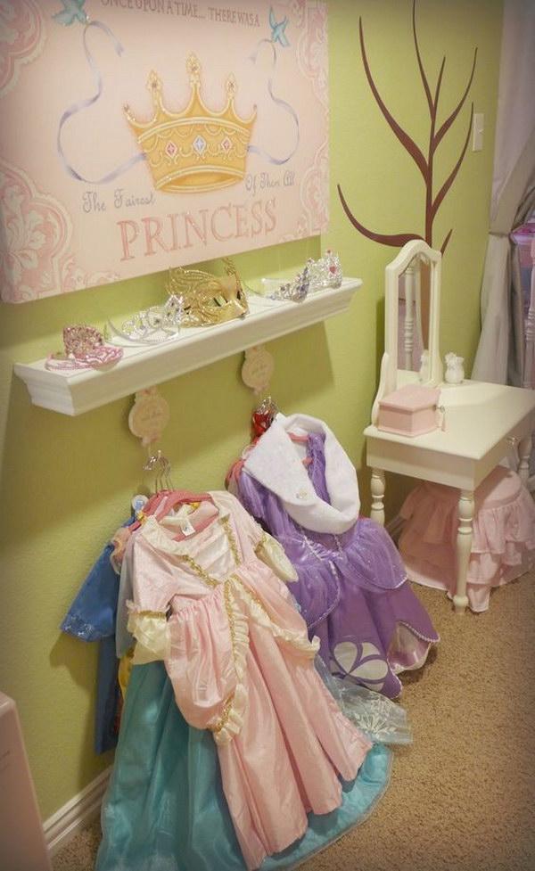 Princess Dress Up Station