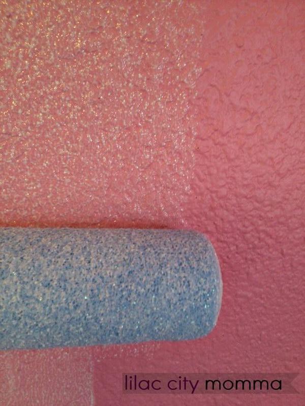 Glitter Wall Paint.