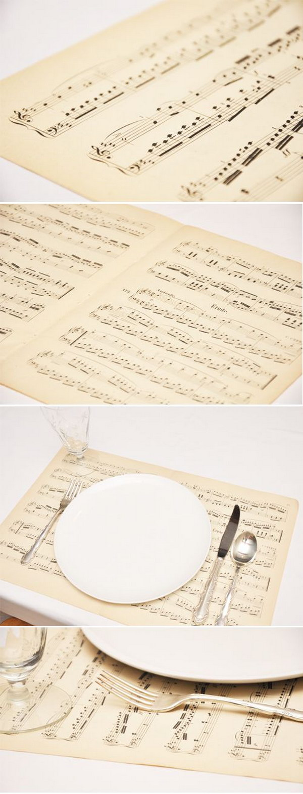 Sheet Music for Placemants.