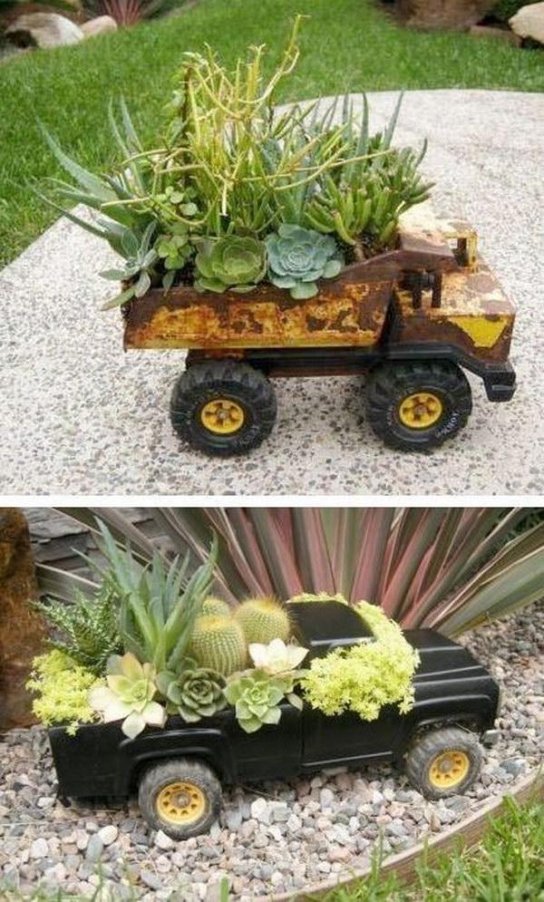 Truck Succulent Planter.