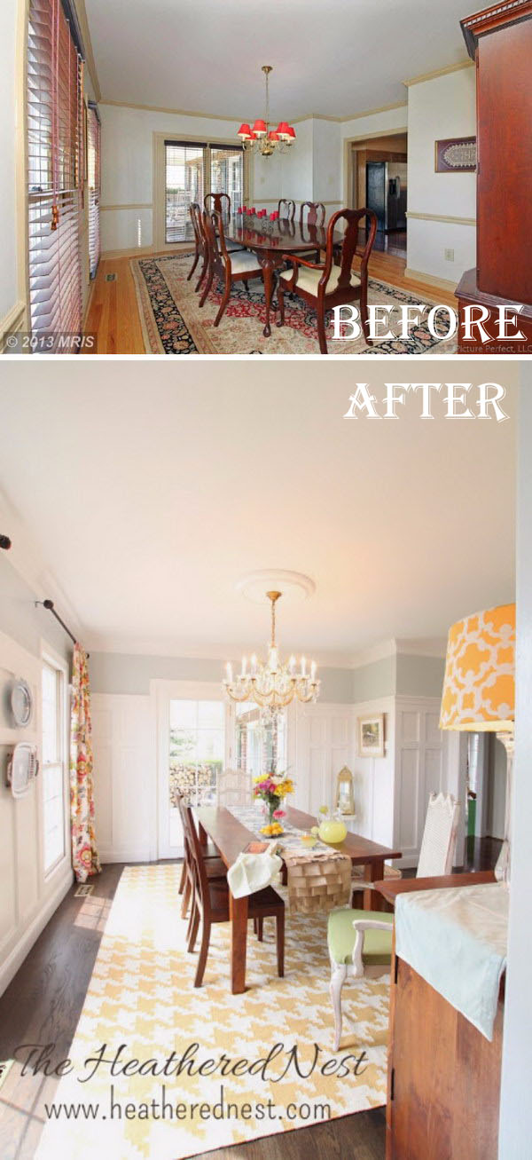 Fresh And Airy Dining Room: A Simple Update Turned into a Major Remodel.