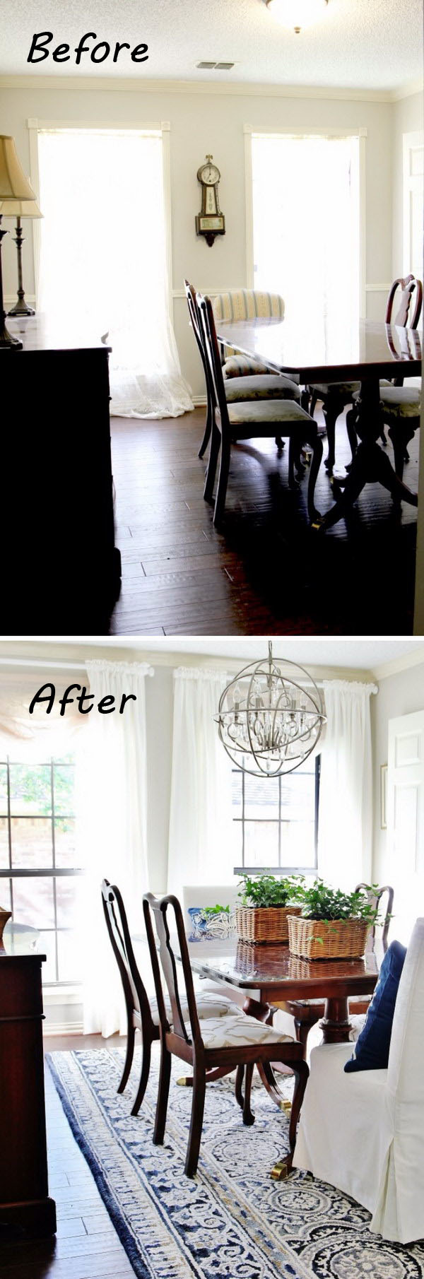 Before and After Dining Room: Lovely Room and So Much Personality.