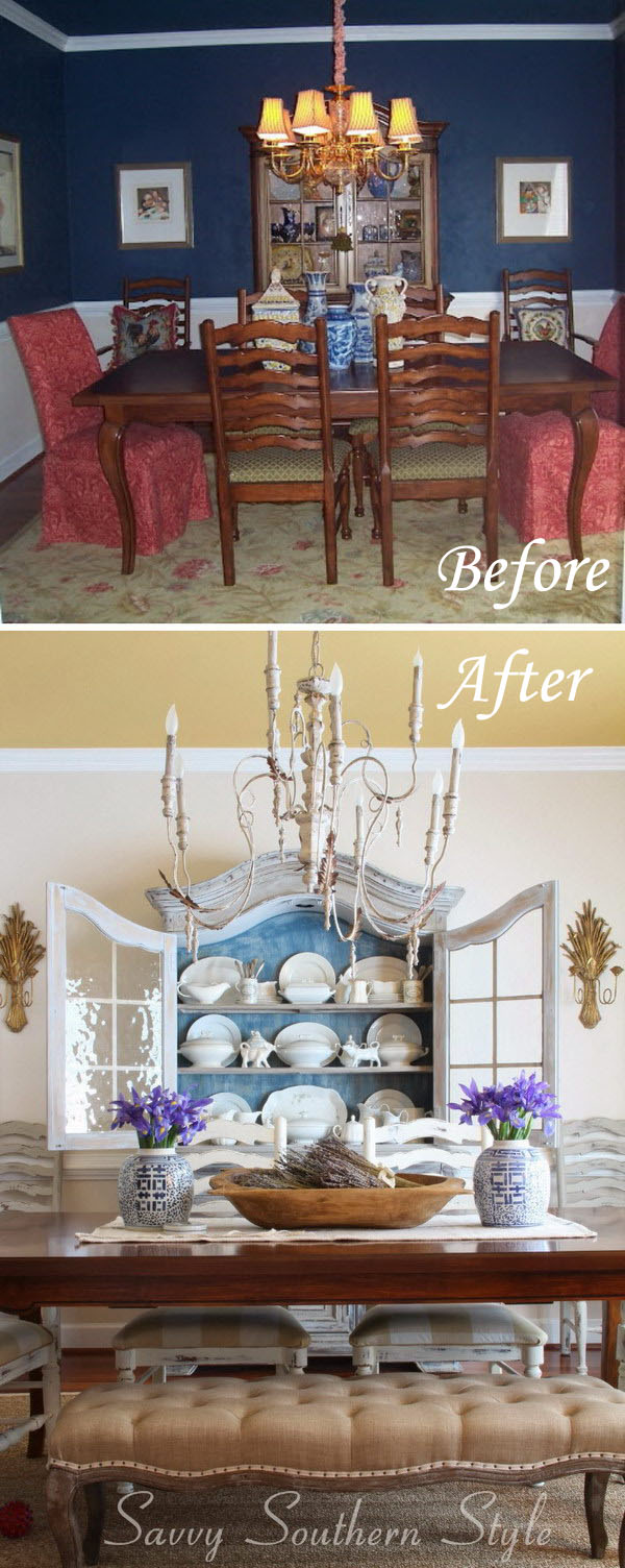 Before and After: 90s Dining Room Transformation.