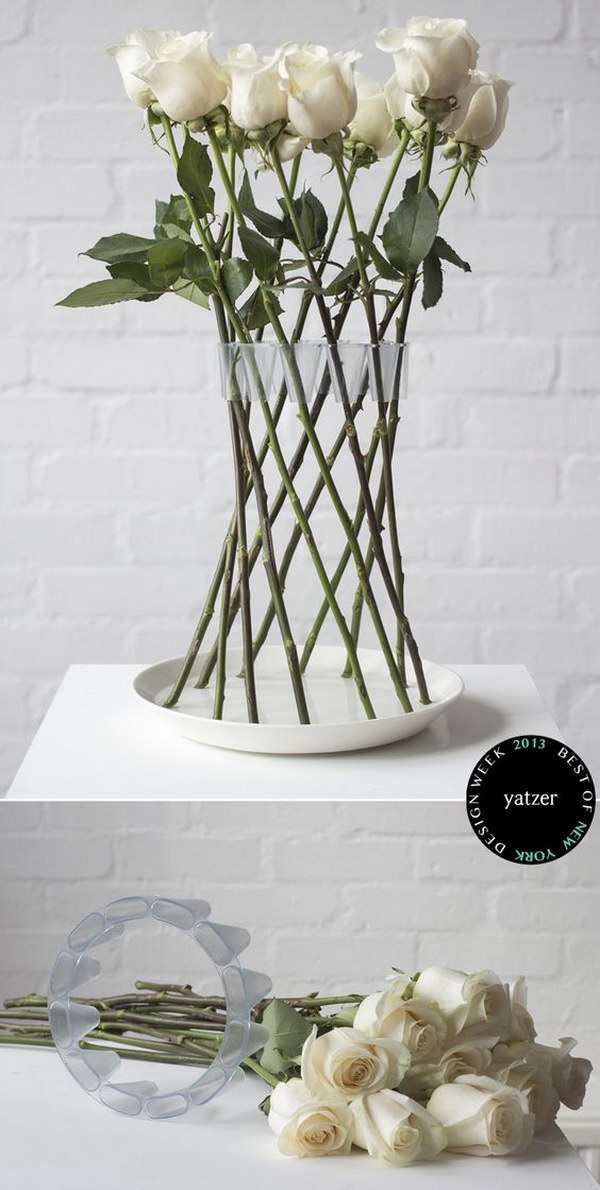 Crown Flowers Vase