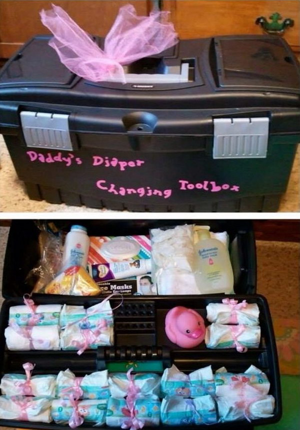 Daddy Diaper Toolbox.