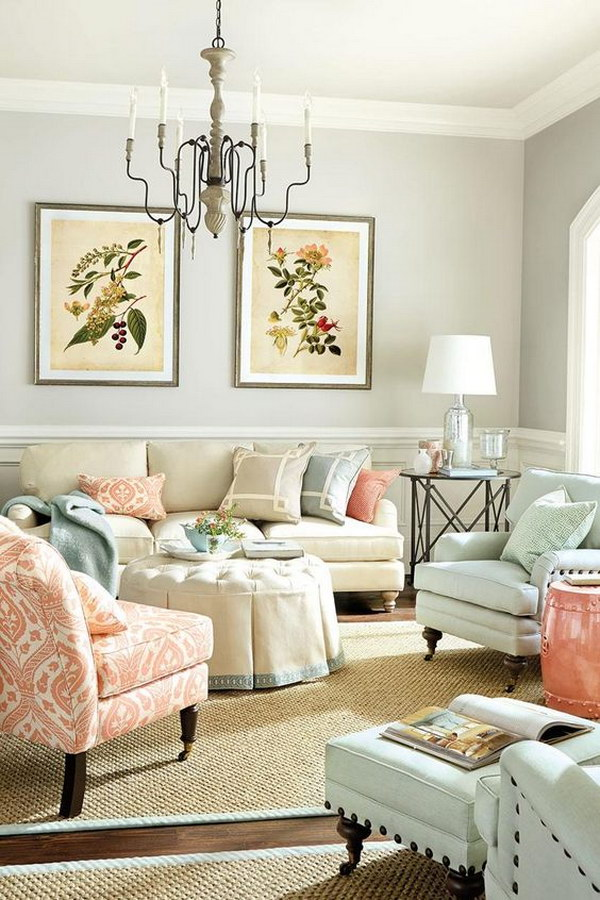 Living Room Layout: Emphasis On Conversation.