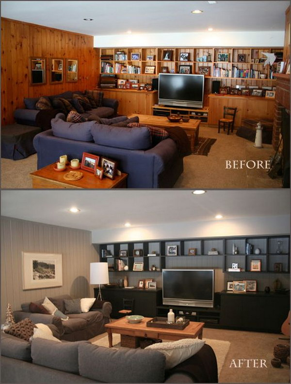 80s Living Room Makeover: Color Palette Transformation.