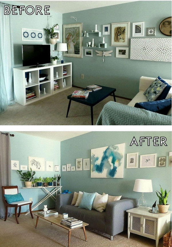 A Quick and Simple Living Room Makeover.