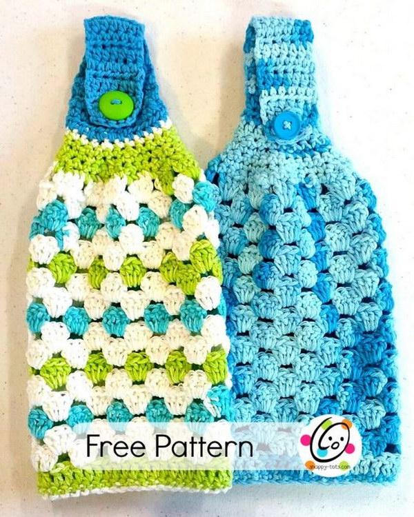 Crochet Knitted Dishcloth Patterns 2017