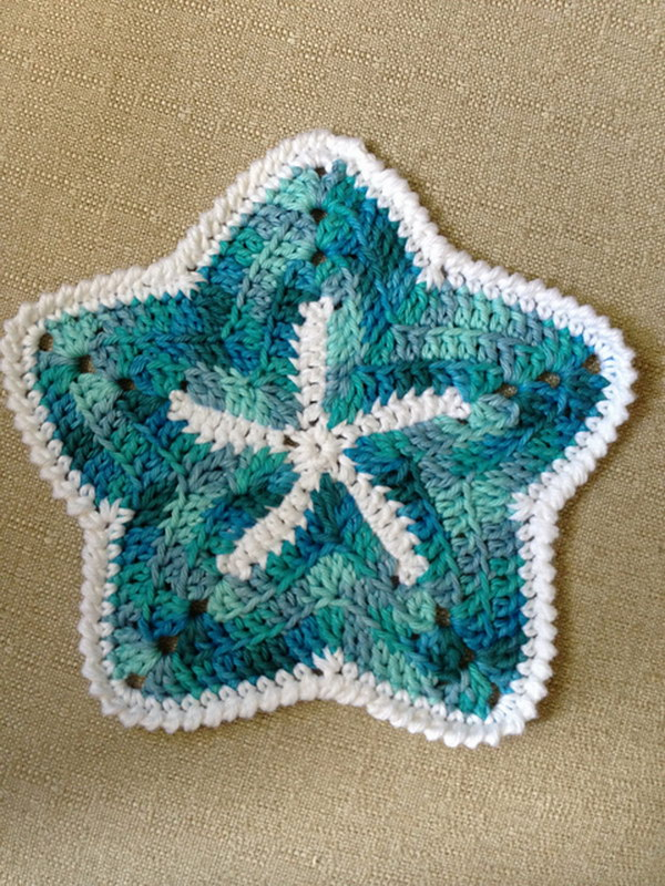 Starfish Dishcloths.