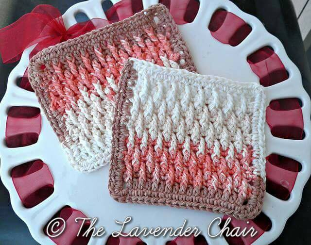 Textured Dishcloth.