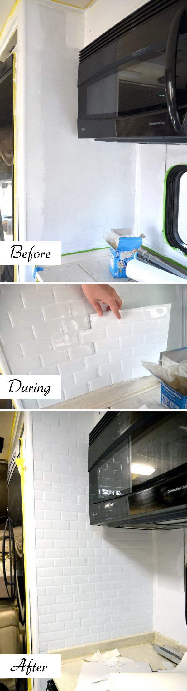 Opt for Peel and Stick Tiles to Cut the Cost of the Labor Involved.