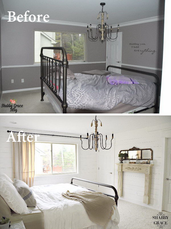 Paint the Walls and Ceiling the Same Color.
