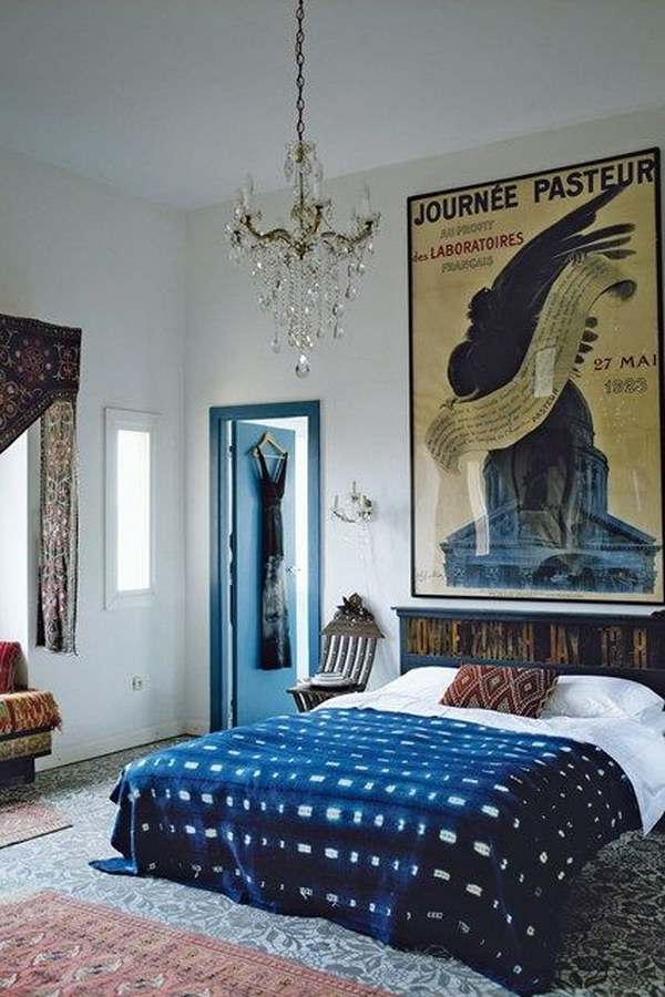 Large Scale Wall Art Can Make the Room Seem Bigger.