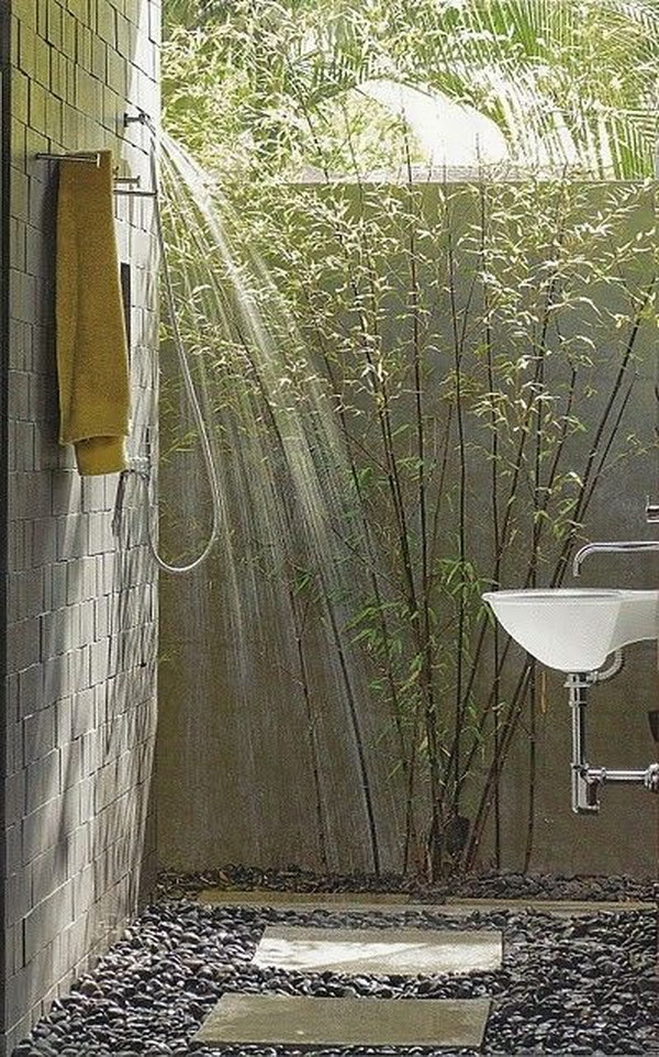 Exotic Oudoor Shower.