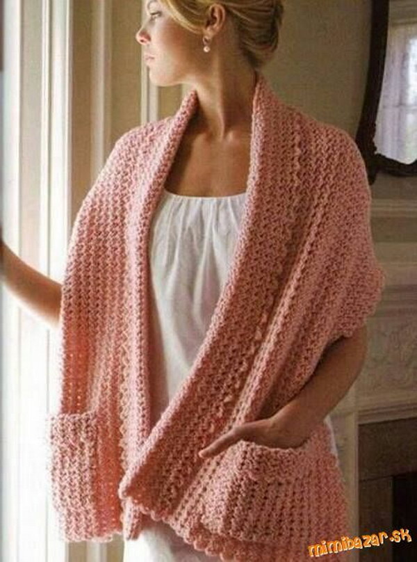 Crochet Patterns For A Shawl : 30 Great Crochet Shawl Patterns