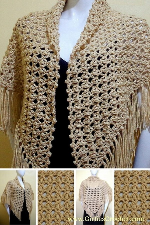Crochet Shawl Prayer.