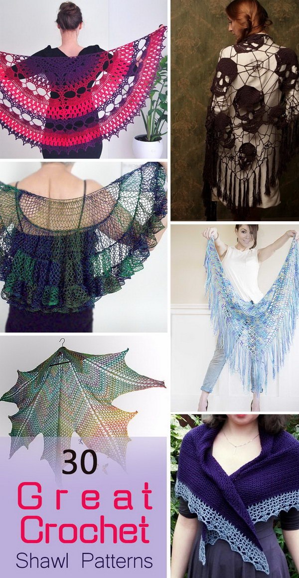 Great Crochet Shawl Patterns.