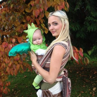 50+ Cute Baby-Wearing Halloween Costumes