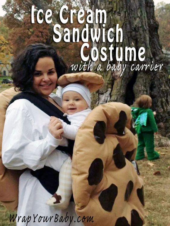 Ice Cream Sandwich Costume.