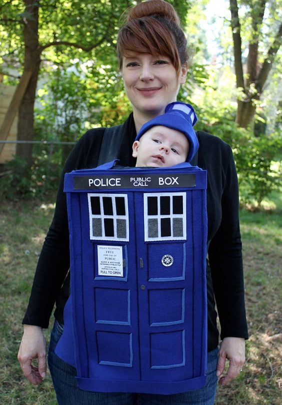 Doctor Who TARDIS Baby Costume  sc 1 st  IdeaStand & 50+ Cute Baby-Wearing Halloween Costumes 2017