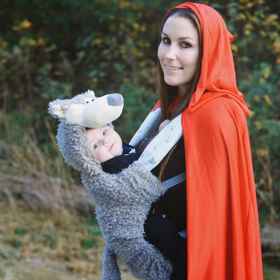 Wolf and Little Red Riding Hood  sc 1 st  IdeaStand & 50+ Cute Baby-Wearing Halloween Costumes 2017