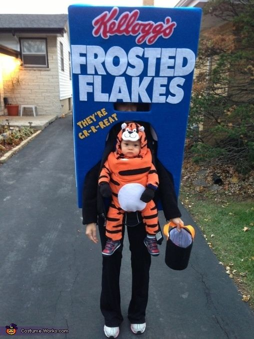 Tony The Tiger On A Frosted Flakes Box.