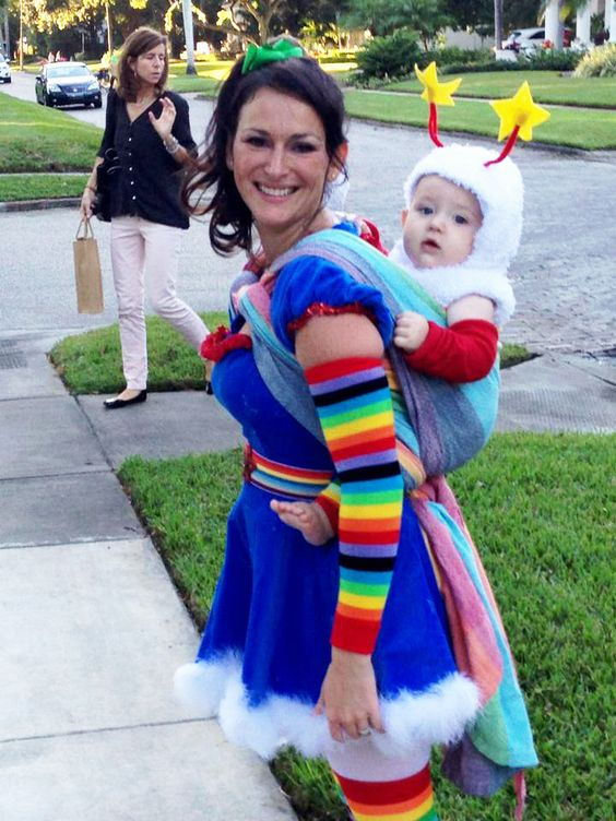 Rainbow Brite And Twink Costume.