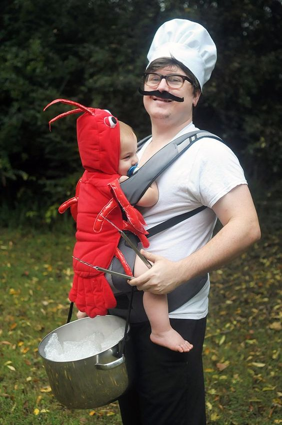 Chef and Lobster.
