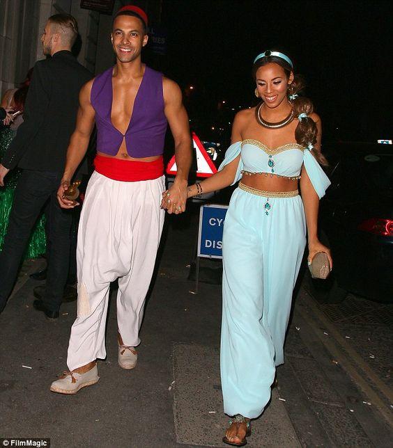 Jasmine And Aladdin Costume.