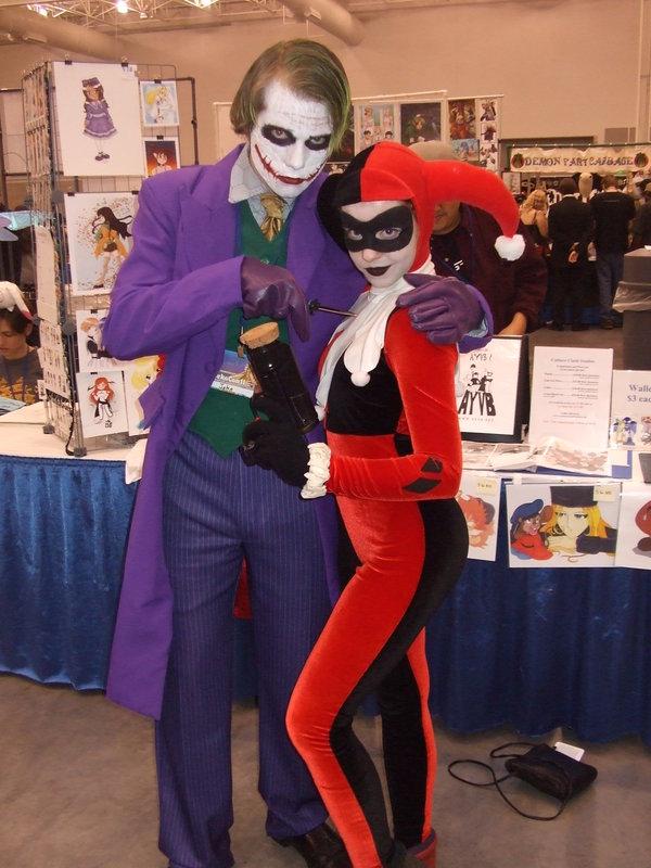 Harley Quinn And Joker Costume.