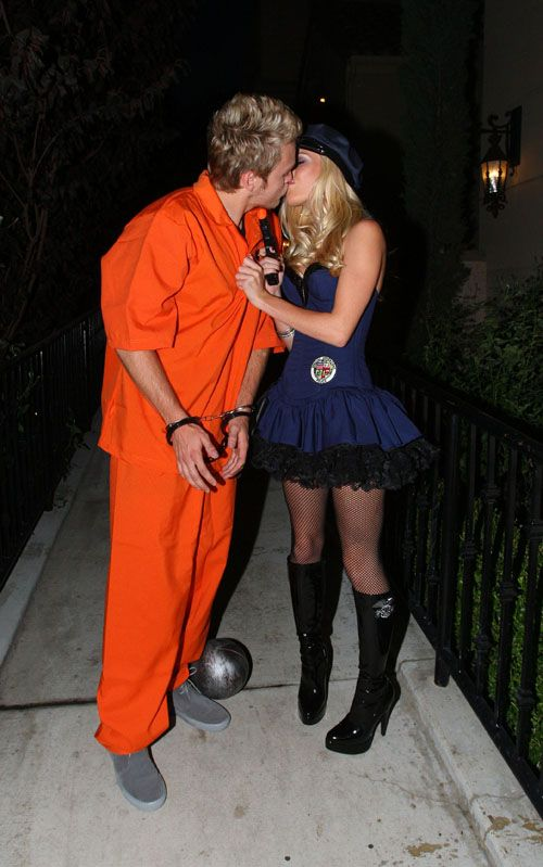 Soap and Loofah Couple Costume.