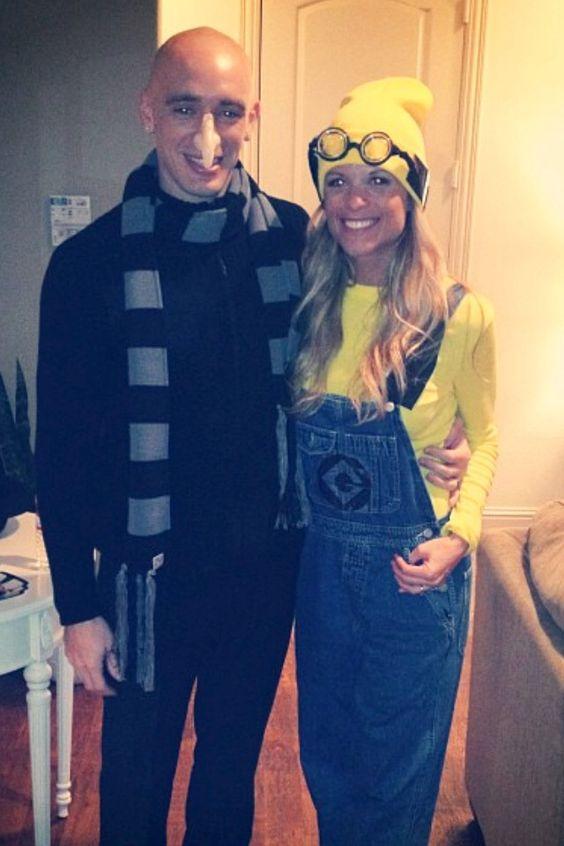 Minion and Dr. Gru  Ryan Costumes.