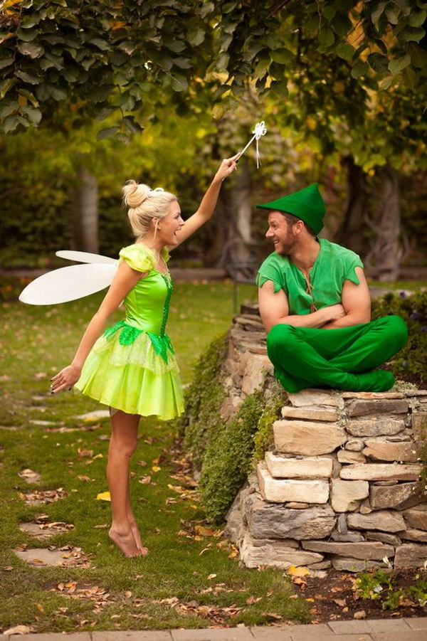 Peter Pan Tinker Bell Costumes.