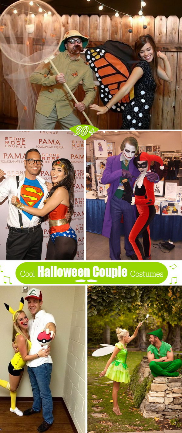 30+ cool halloween couple costumes 2017