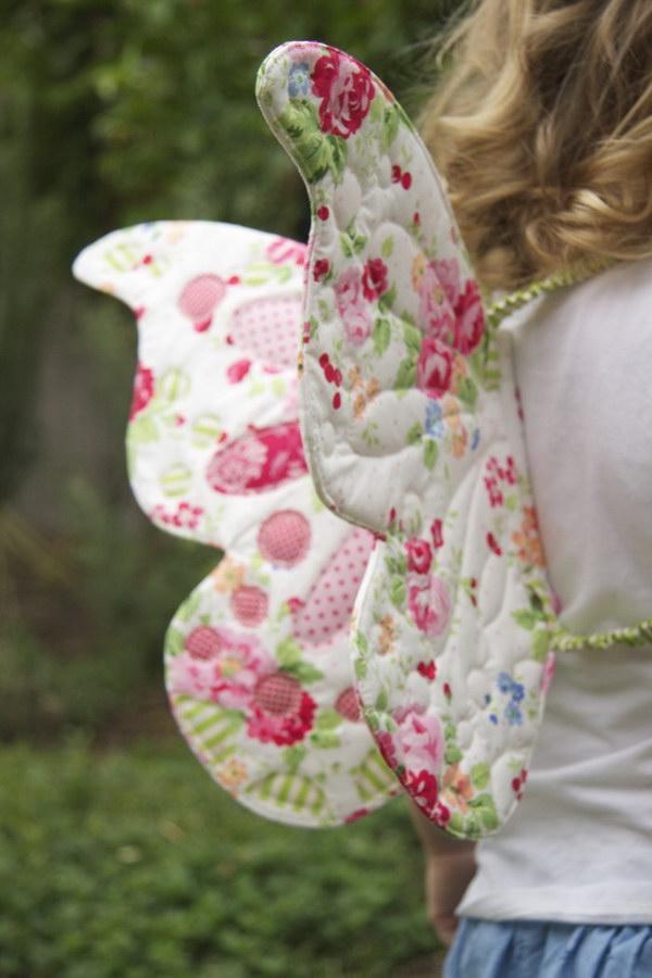 DIY Butterfly Fairy Wings for Kids
