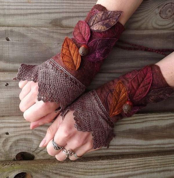Vintage Lace Faerie Cuffs.