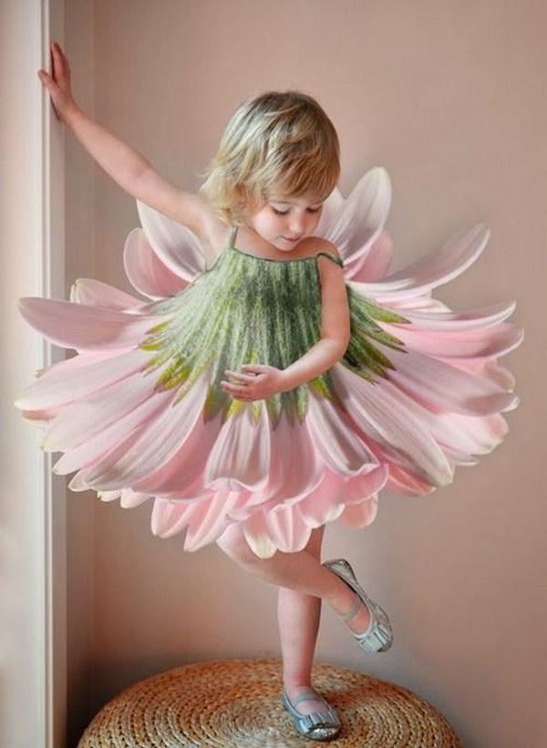 Little Flower Fairy Costume.