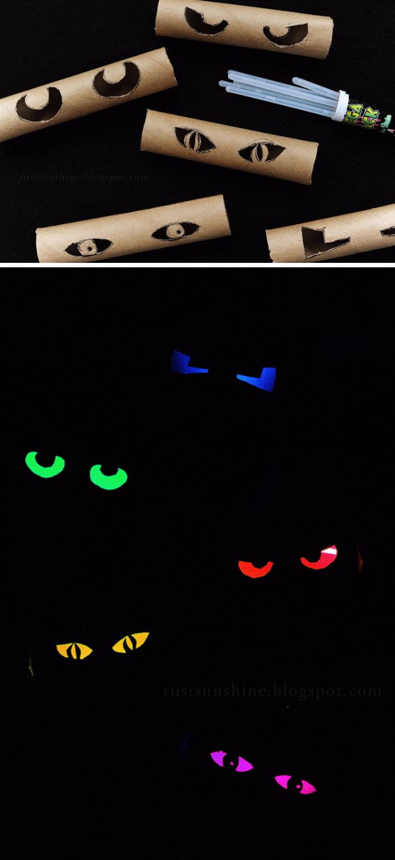 Glowing Eyes.