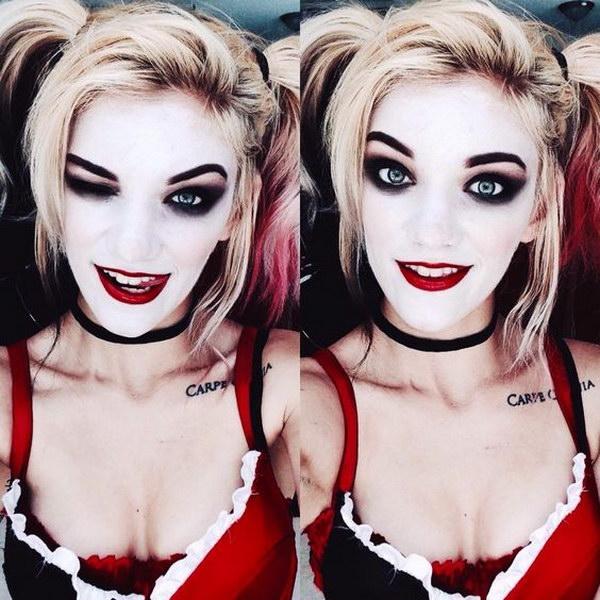 Great Harley Quinn Costume for Halloween.