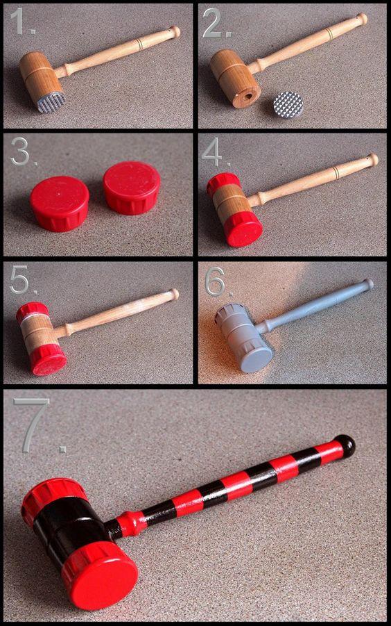 Harley Quinn Mini Hammer Build.