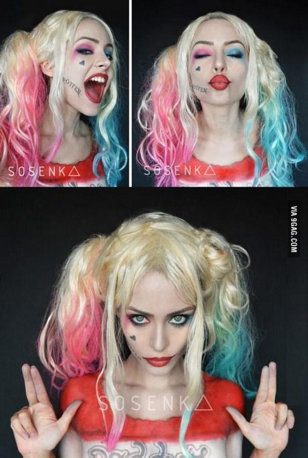 Pretty Harley Quinn Costume.