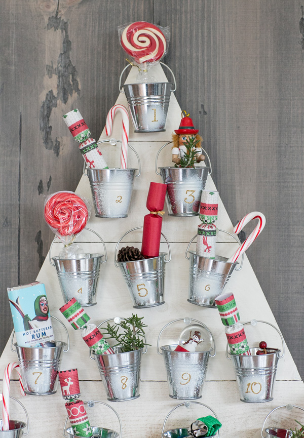 Original Advent Calendar Ideas : Diy christmas countdown calendar ideas tutorials