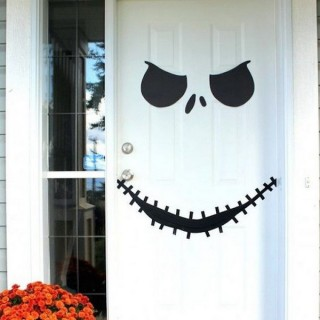 30+ Cute and Fun Halloween Door Decorating Ideas