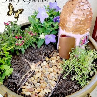 Awesome DIY Fairy Garden Ideas & Tutorials