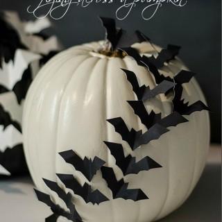 Creative and Stylish No-carve Pumpkin Decoration Ideas