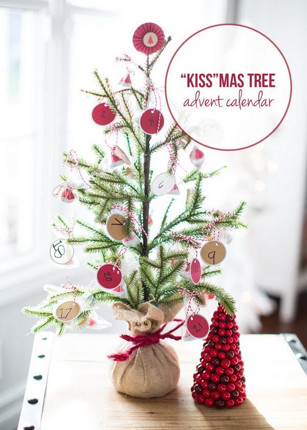 KISSmas Tree Advent Calendar.