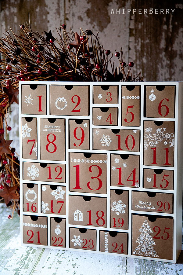 Silhouette Cameo Advent Calendar.